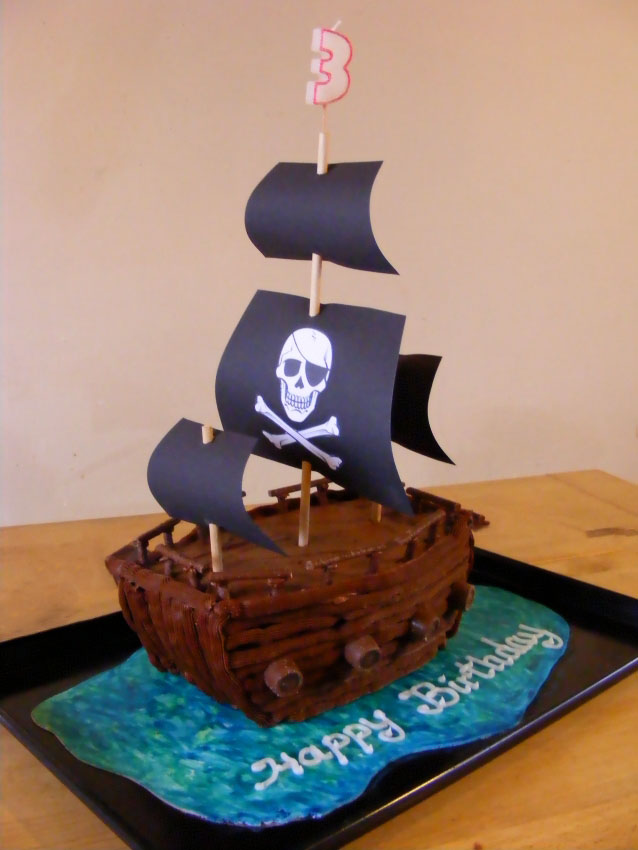 Image Result For Pirate Birthday Cake Recipe Uk