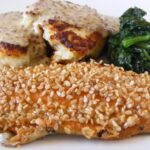 Dad's Sesame-Crusted Trout