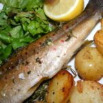Roasted Trout with Thyme