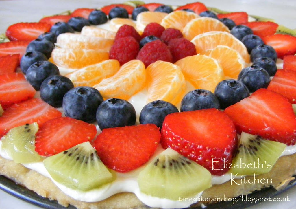 fruit pizza are apples fruits