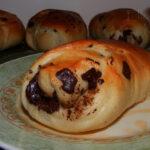 Chocolate Chunk Brioche (Bread Machine)