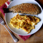 Oatmeal Crusted Loch Trout & Scrambled Eggs