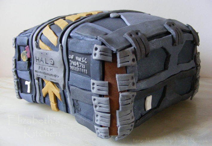 Halo Reach Birthday Cake Elizabeths Kitchen Diary
