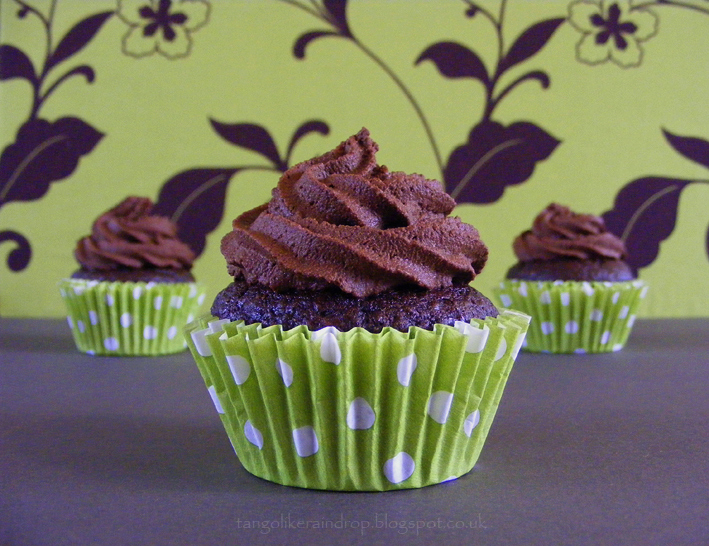 Vegan Chocolate Cupcakes With Chocolate Frosting Recipe — Dishmaps