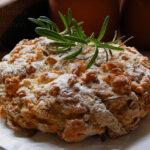 Feta Cheese, Onion & Potato Bread with Rosemary