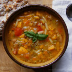 Three Bean Vegetable Soup