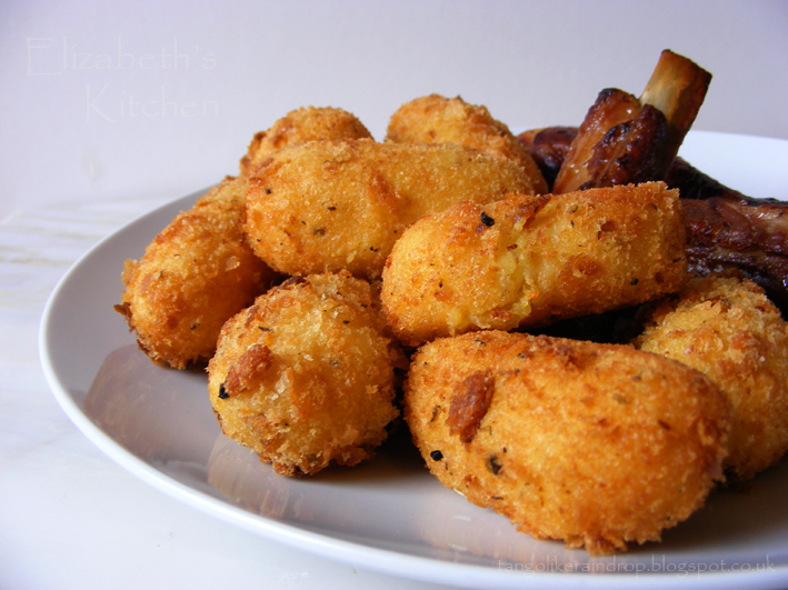 Potato Croquettes | Elizabeth's Kitchen Diary