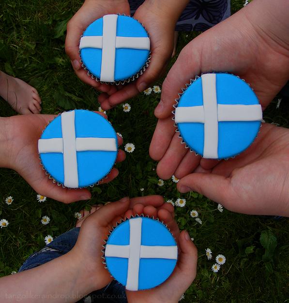 shetland-flag-cupcakes