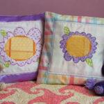 Applique Flower Pillow Project