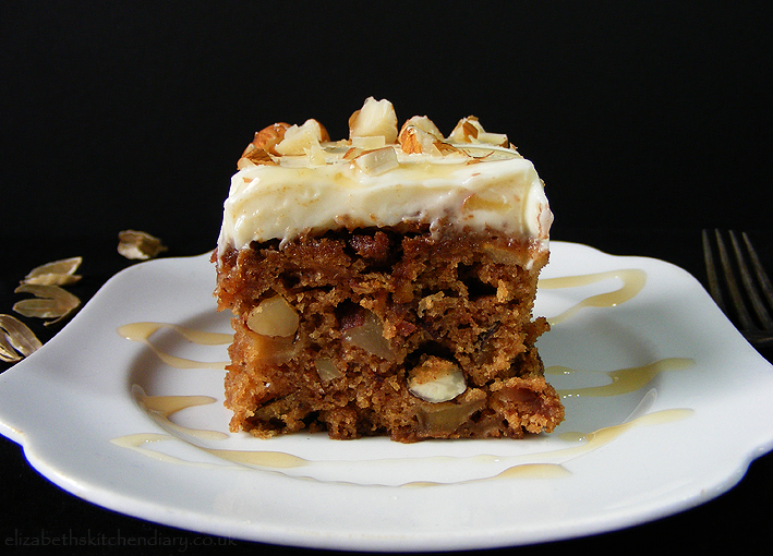 Apple Cardamom Cake with Quince Frosting - Elizabeth's ...