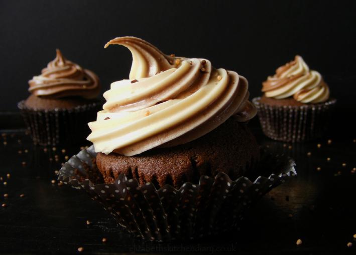 chocolate coffee cupcake