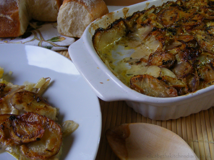 Shetland Black Potato & Fennel Gratin