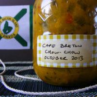 Cape Breton Chow Chow