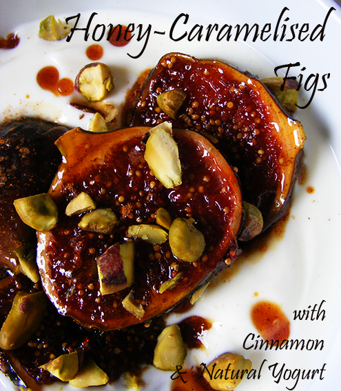 Honey-Caramelised Figs with Cinnamon & Natural Yogurt ...