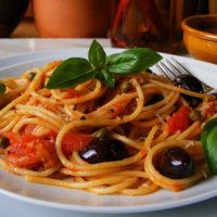 Spaghetti alla Puttanesca & Proware Tri-ply Copper Cookware Review