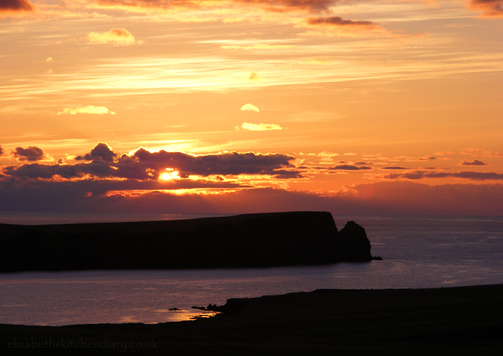 St ninians sunset