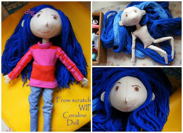 Fabric 14 Coraline Doll Pattern Free Elizabeth S Kitchen Diary