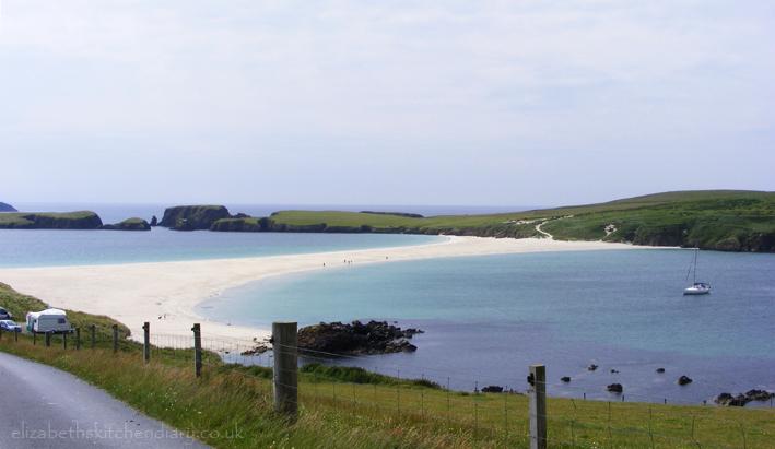ninians beach 1