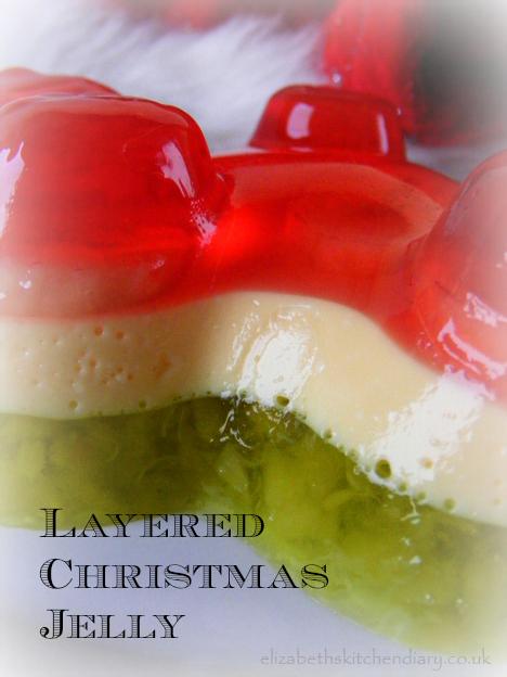 Christmas Jelly Dessert