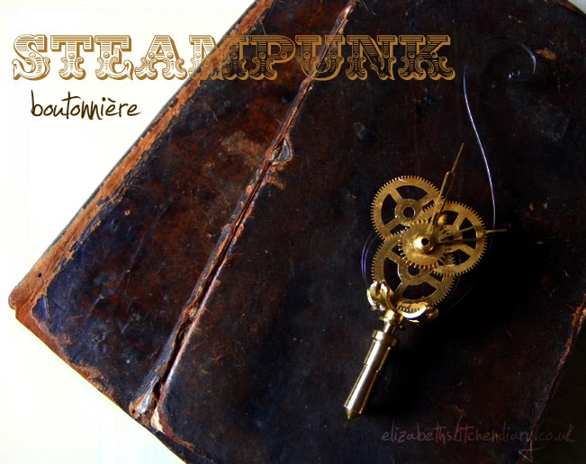 Steampunk boutonniere