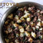 Leftover Roast Beef & Potato Hash