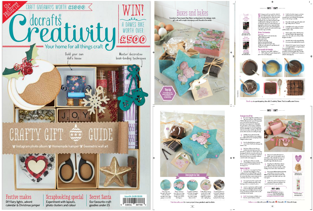 Do Crafts Creativity Magazine Spread November 2015