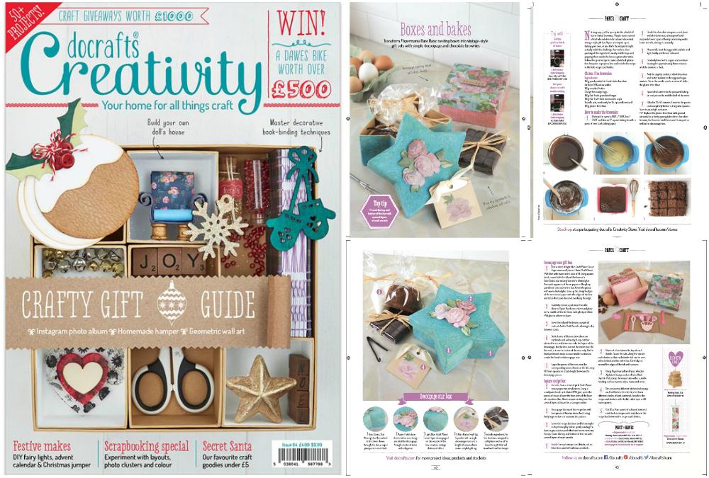 Do Crafts Creativity Magazine Spread November 2015