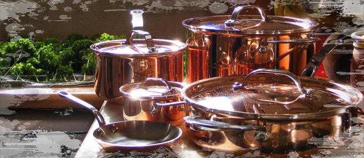 proware triply copper pans
