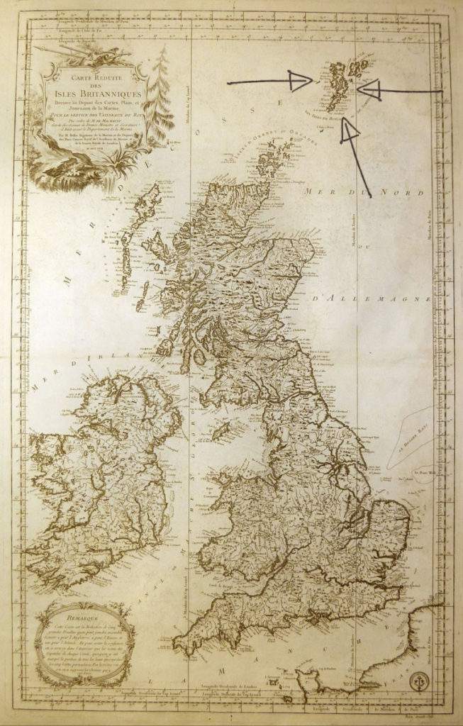 Where is Shetland?