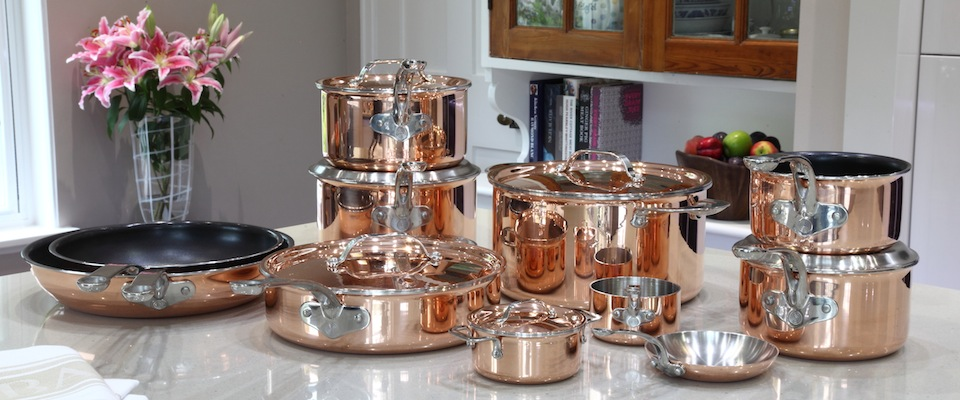 proware copper pots