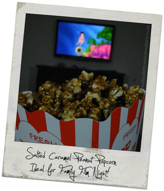 caramel popcorn film polaroid