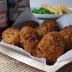 Chicken, Apple & Sage Nuggets with Maw Broon's Sauce