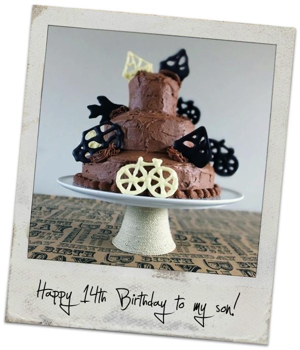 chocolate 3 tier cake