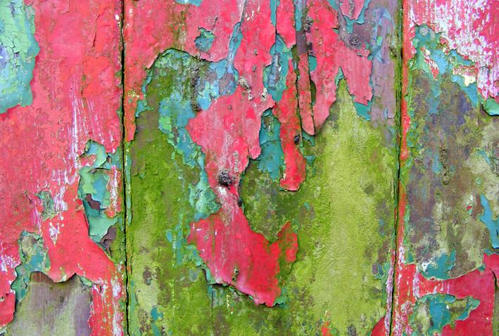 abandoned croft door