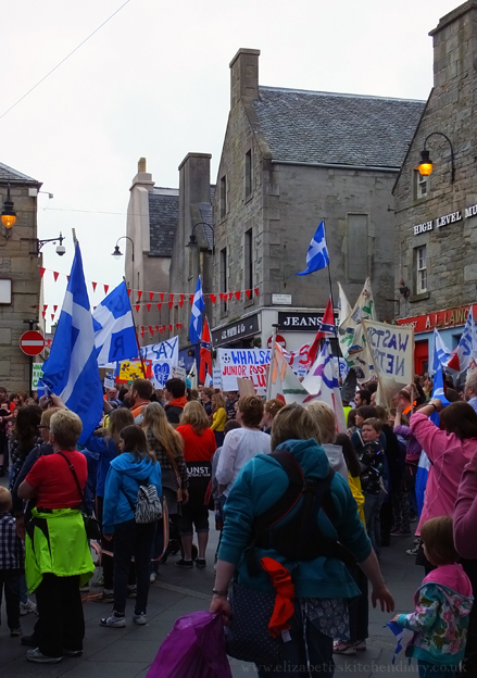 March for Education, Lerwick, Shetland