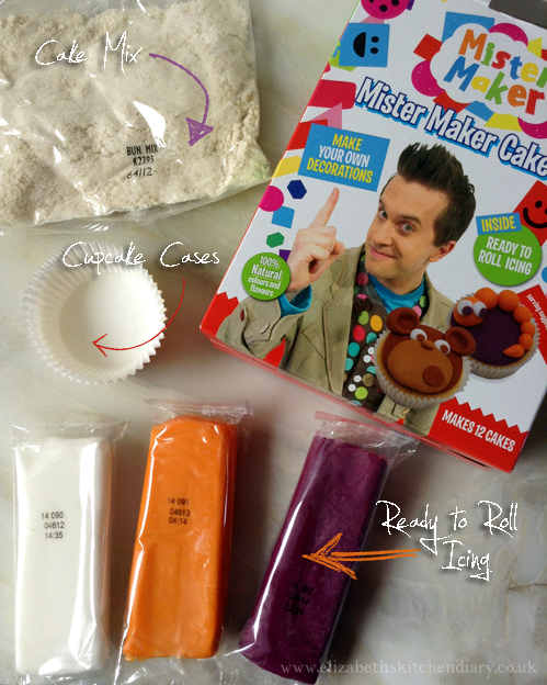Mister Maker Cake Kit by Greens