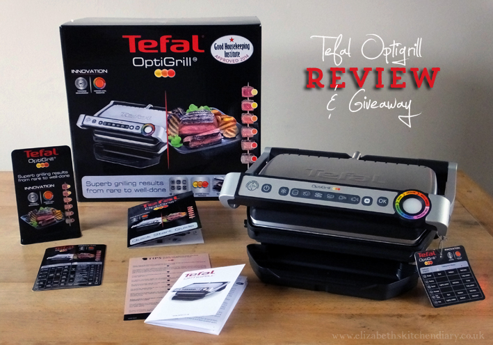 tefal optigrill review giveaway rrp 150 elizabeth 39 s kitchen diary. Black Bedroom Furniture Sets. Home Design Ideas