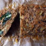 Spinach & Mozzarella Stuffed Meatloaf