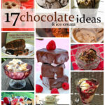17 Chocolate and Ice Cream Ideas by Elizabeths Kitchen Diary
