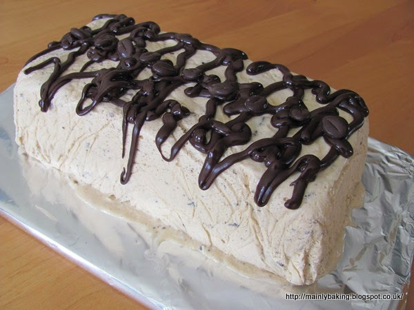Coffee and Chocolate Semifreddo by Mainly Baking