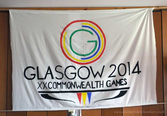 Commonwealth Games 2014 Flag