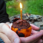 Chocolate Orange Campfire Cake by Elizabeth's Kitchen Diary