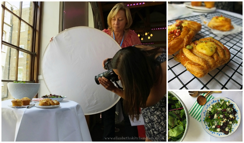 food styling session at BritMums 2014