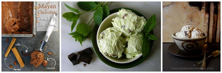 ice cream collage