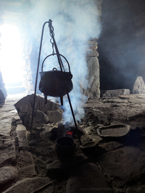 iron age cooking - Scatness Shetland