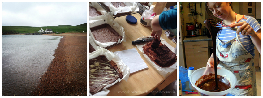 The Island Oven Peat Bog Brownies