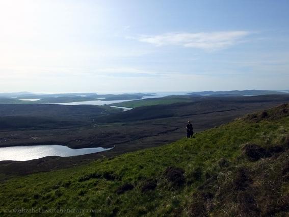 Scalla Field Hill, Shetland