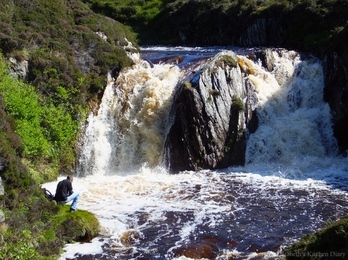 Burn of Lunklet overflowing August 2014