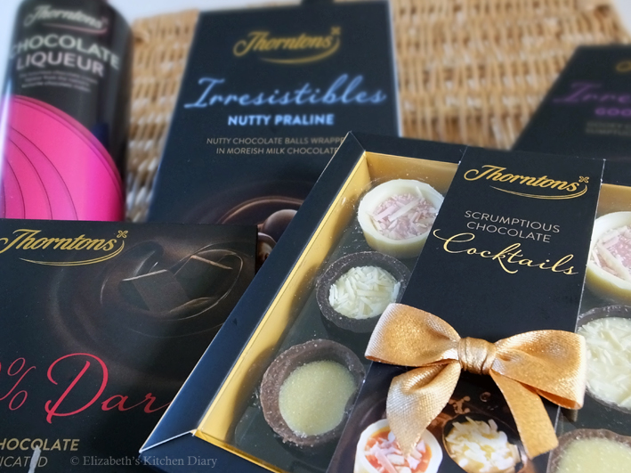 Thorntons Chocolates by Elizabeth's Kitchen Diary