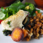 Vegan Shepherdess Pie with a Creamy Cauliflower Mash